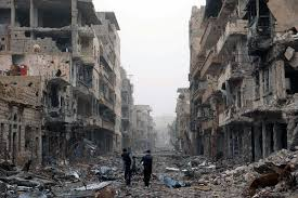 death and destruction in Syria